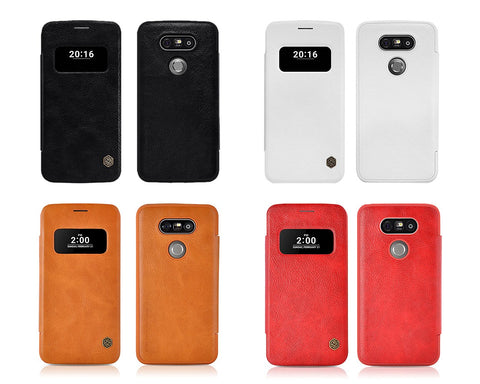Eyelet Pro Series LG Flip Leather Case