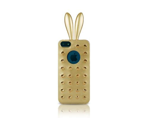 Rabito Pointed Stud Series iPhone 5 and 5S Case - Gold