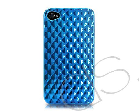 Refract Series iPhone 4 and 4S Case - Blue
