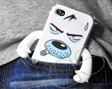 Robot Series iPhone 4 and 4S Silicone Case - Dog