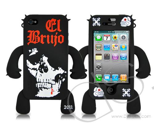 Robot Series iPhone 4 and 4S Silicone Case - Satan
