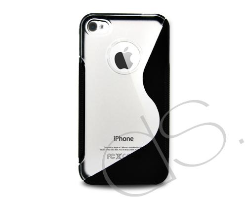 S-Line Series iPhone 4 and 4S Silicone Case - Black