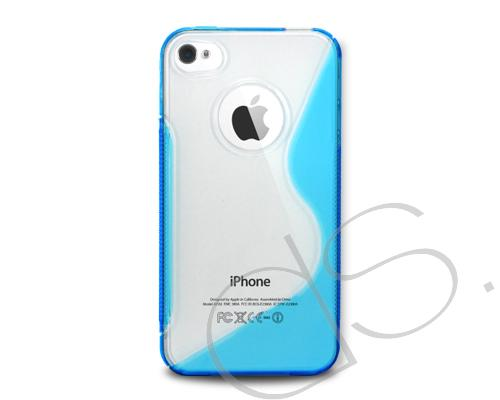 S-Line Series iPhone 4 and 4S Silicone Case - Blue