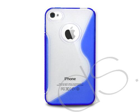 S-Line Series iPhone 4 and 4S Silicone Case - Navy