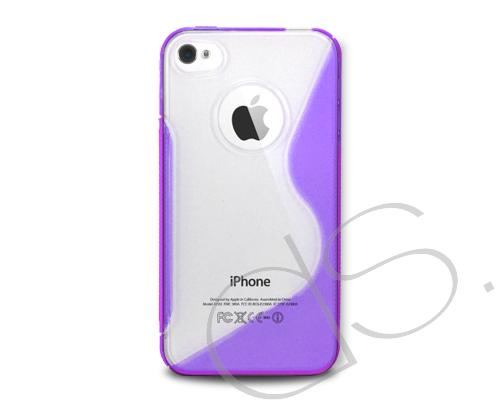 S-Line Series iPhone 4 and 4S Silicone Case - Purple