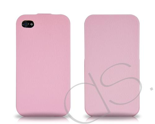 Simplism Series iPhone 4 and 4S Flip Case - Pink