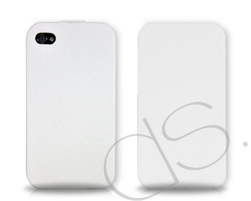 Simplism Series iPhone 4 and 4S Flip Case - White
