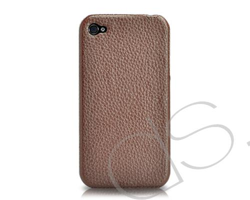 Simplism Series iPhone 4 and 4S Case - Brown