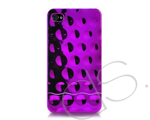 Slider Series iPhone 4 and 4S Case - Purple