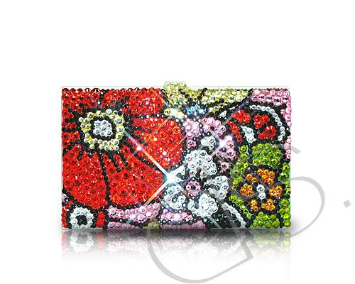 Sweet Bonquet Crystallized Card Case