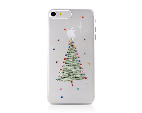 Xmas Tree Bling Swarovski Crystal Phone Cases