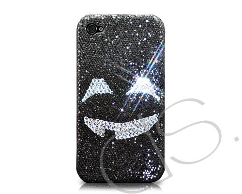 Halloween Bling Swarovski Crystal Phone Cases - Black