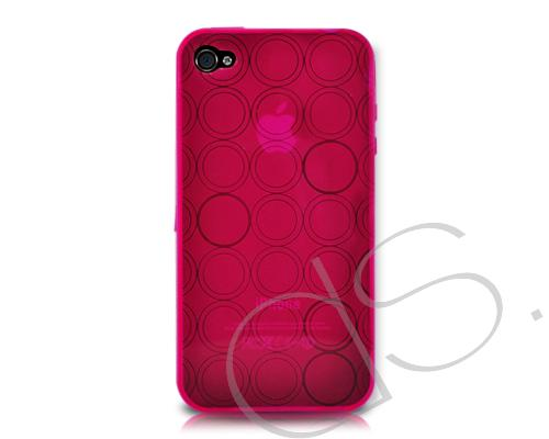 Turno Series iPhone 4 and 4S Silicone Case - Red