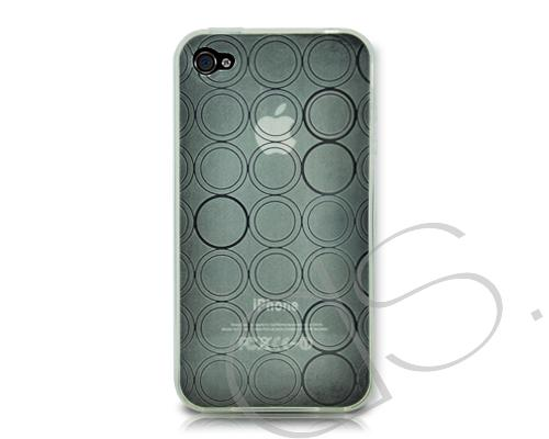 Turno Series iPhone 4 and 4S Silicone Case - Transparent