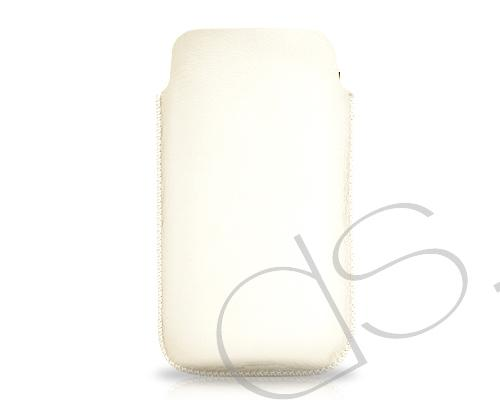 Ultra Slim Series Leather iPhone 4 and 4S case - White