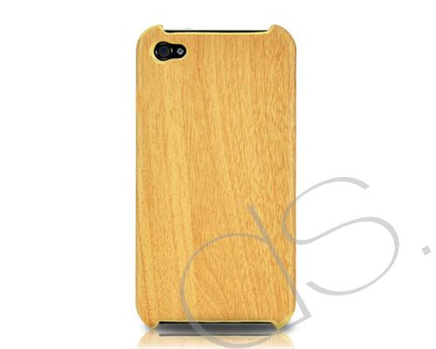 Wooden Series iPhone 4 and 4S Case - Light Brown