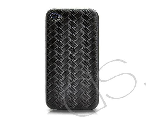 Woven Series iPhone 4 and 4S Case - Black