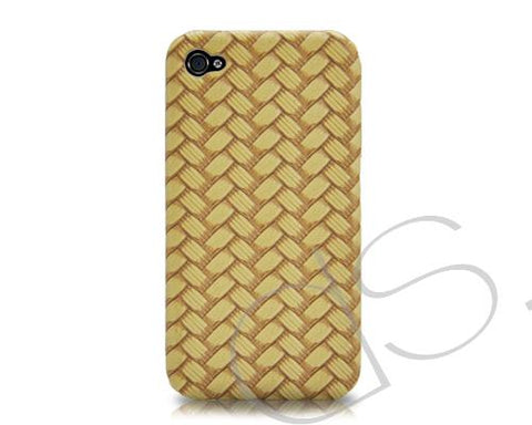 Woven Series iPhone 4 and 4S Case - Yellow