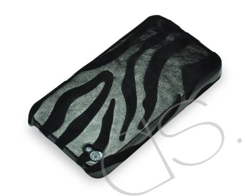 Zebra Series iPhone 4 and 4S Case - Black