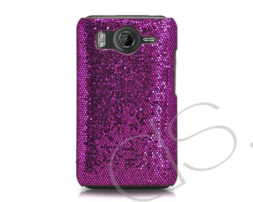 Zirconia Series HTC Desire HD Case - Purple
