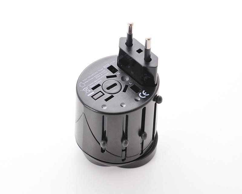 100-240V Universal Twist International All In One Travel Plug Adapter