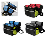 Bike Cycling Frame Pannier Rack Tube Bag Bicycle Beam Package