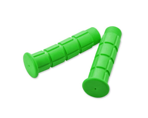 2 Pcs Simple Silicone Cycling Bike Handlebar Grips - Green