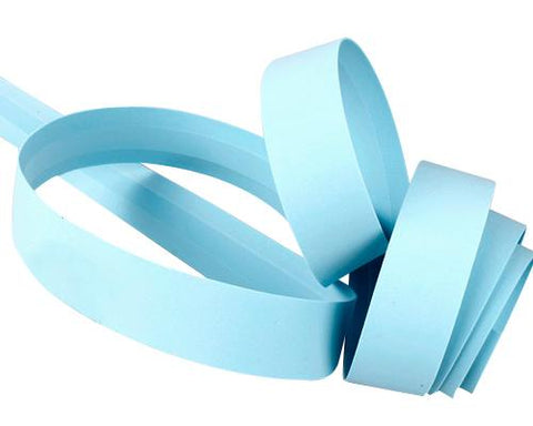 Simple Cycling Bike Handlebar Tape Wrap with 2 Bar Plug - Light Blue