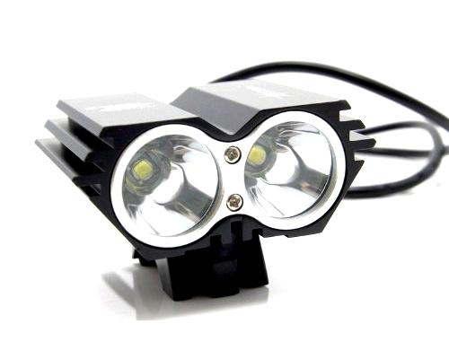 2000 Lumens 2 x CREE XML U2 LED Cycling Bicycle Bike Headlight