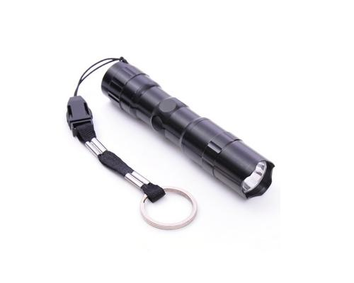 Outdoor Hiking Camping Mountain Bike Aluminium Alloy Safety LED Torch