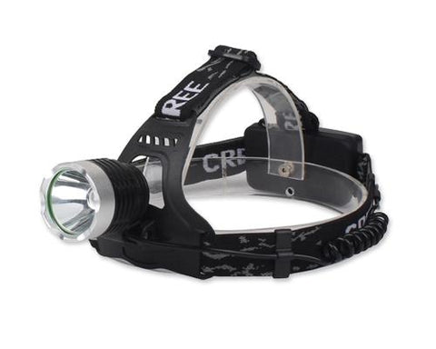 10W Rechargeable Outdoor Cycling Climbing Camping Headlight with Strap