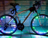 2M Cycling Bicycle Wheels Waterproof LED Safety Light 1 Pc