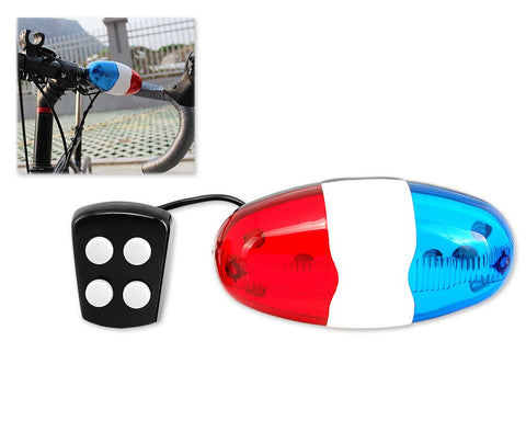 LED Light Police Siren for Bike