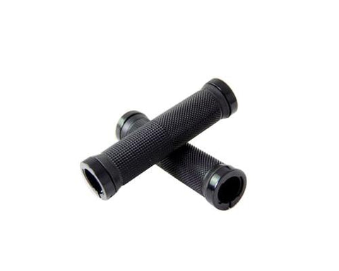 2 Pcs Rubber Cycling Mountain Bike Road Bike Handlebar Grips - Black