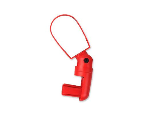Cycling MTB Mountain Road Bike Bar End Rear View Mirror - Red