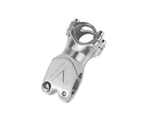 60mm Alloy Fixie MTB Single Speed Bike Handlebar Stem  - Silver