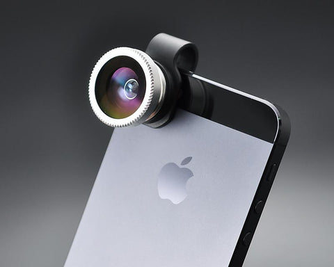 Universal Clip on Detachable Lens - Fish Eye