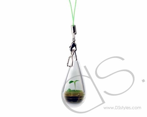 Luminous Plant Phone Strap