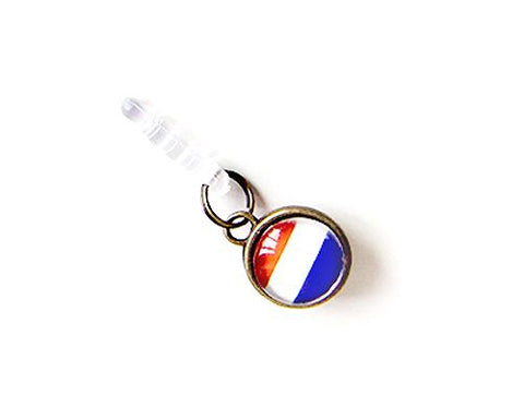 World Cup Series Handmade Headphone Jack Plug - Netherlands