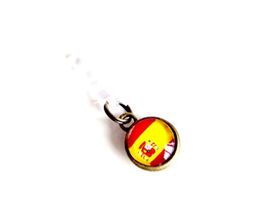 World Cup Series Handmade Headphone Jack Plug - Spain