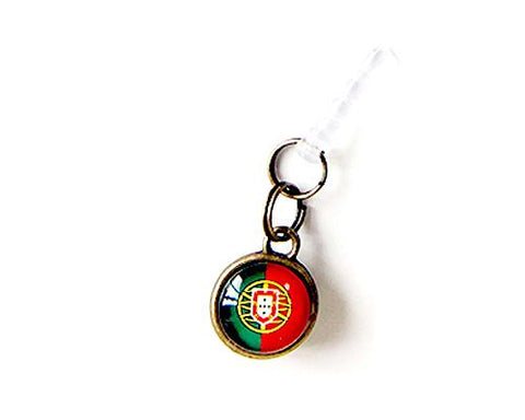 World Cup Series Handmade Headphone Jack Plug - Portugal