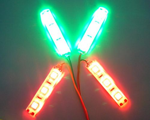DJI Phantom Quadcopter Night Flight Red and Green LED Navigation Light