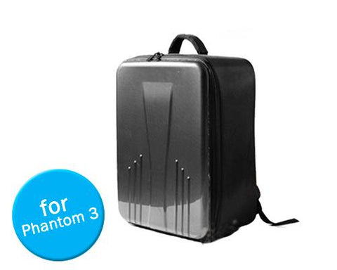 DJI 18.9'' Travel Carbon Fiber Case Backpack for Phantom 3 Quadcopter