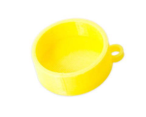 DJI Protective Camera Lens Cap for Phantom 3 Quadcopter - C Yellow