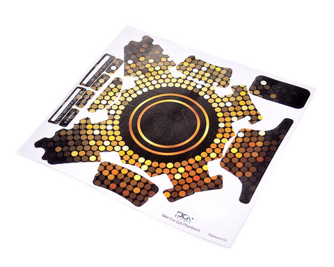 DJI Phantom 3 Quadcopter Decoration Skin Decal Sticker - Gold Dots