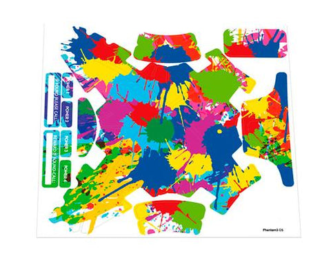DJI Phantom 3 Quadcopter Body Decoration Decal Sticker - Colorful