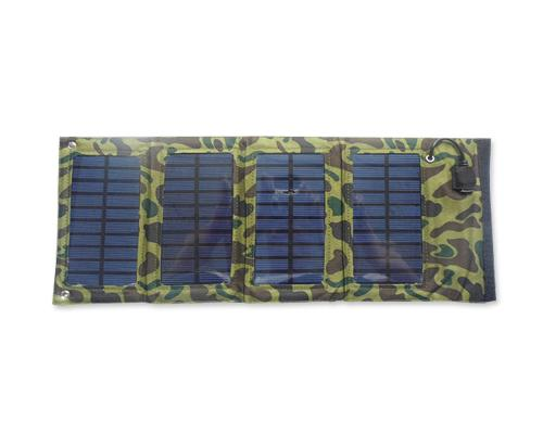 Portable Folding USB Battery Solar Charger for Tablet and Smartphone