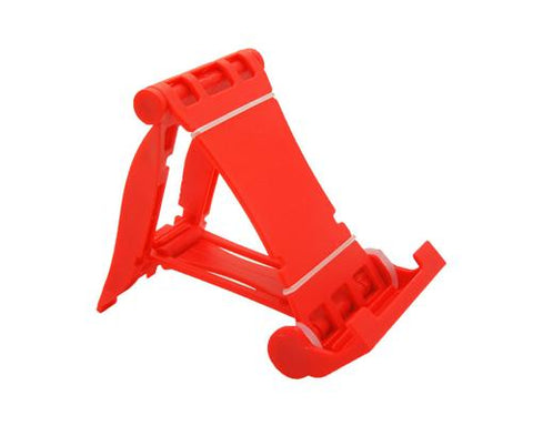 Universal Portable Folding Mobile Phone Stand Holder - Red