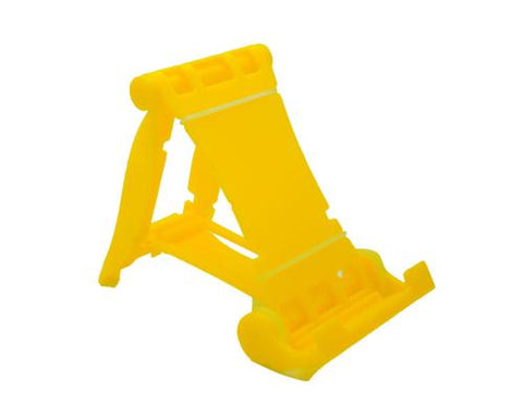 Universal Portable Folding Mobile Phone Stand Holder - Yellow