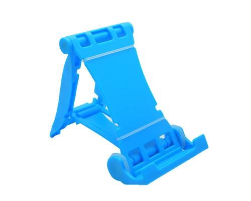 Universal Portable Folding Mobile Phone Stand Holder - Blue